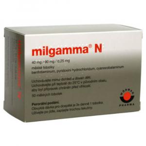 MILGAMMA N 50 měkkých tobolek