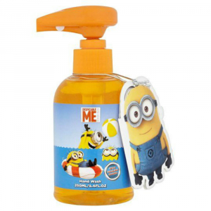 MINIONS Dětské tekuté mýdlo na ruce se zvuky Mimoňů 250 ml