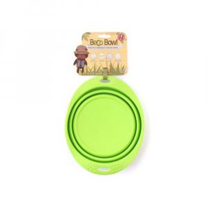 BECO Bowl Travel EKO Cestovní miska pro psy zelená L