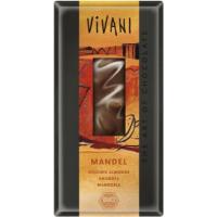 VIVANI bio čokoláda mléčná s mandlemi 100 g
