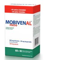 MOBIVENAL micro 60+10 tablet ZDARMA