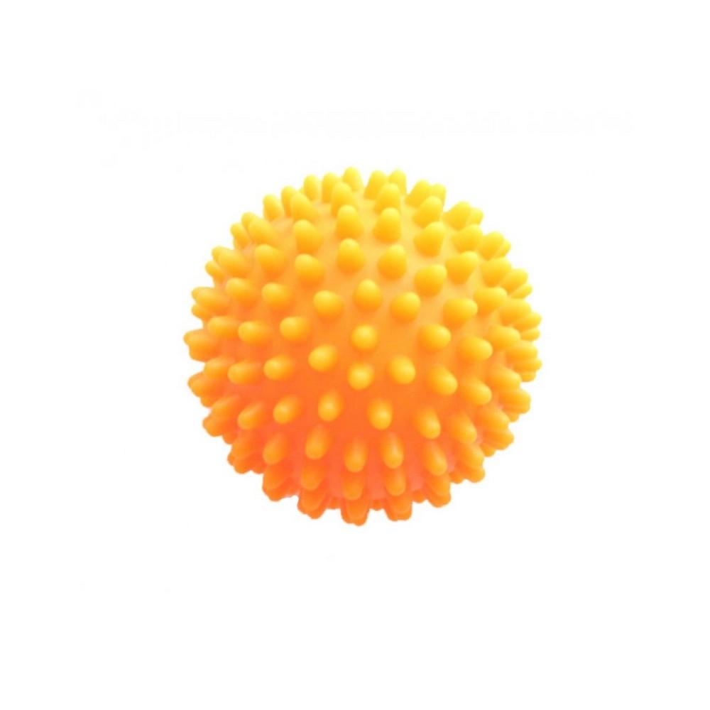 MODOM Masážní míček ježek oranžový 7 cm
