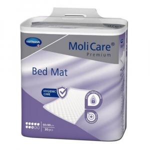 MOLICARE Bed Mat Inkontinenční podložka 8 kapek 60 x 90 cm 30 kusů