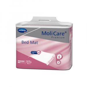 MOLICARE Bed Mat inkontinenční podložky 7 kapek se záložkami 60 x 90 cm 30 kusů