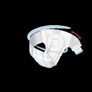 MOLICARE Elastic absorpční kalhotky 6 kapek vel. S 30 kusů