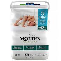 MOLTEX Pure & Nature Junior Natahovací plenkové kalhotky 9 -14 kg 20 ks