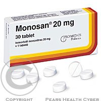 MONOSAN 20 MG  30X20MG Tablety