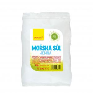 WOLFBERRY Mořská sůl jemná v sáčku 700 g