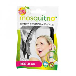 MOSQUITNO Regular Náramek proti komárům citronelová vůně 1 ks