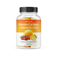 MOVIT ENERGY Vitamin C 1200 mg s šípky + Vitamin D + Zinek premium 90 tablet