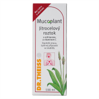 DR. THEISS Mucoplant Jitrocelový roztok s Echinaceou a vitaminem C 100 ml