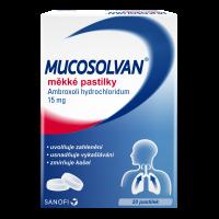 MUCOSOLVAN 15 mg 20 pastilek