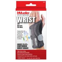 MUELLER Adjust-to-fit Wrist Brace Ortéza na levé zápěstí 1 kus