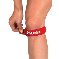 MUELLER Podkolenní pásek červený