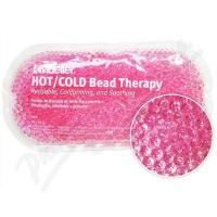 MUELLER  Chladivý/hřejivý polštářek s gelovými kuličkami růžový