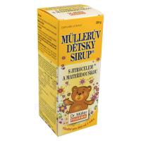 DR. MÜLLER Müllerův dětský sirup s jitrocelem a mateřídouškou 320 g
