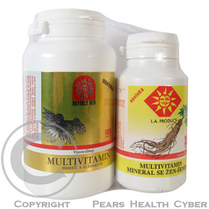 BEVERLY SUN Multivitamin-minerál echinacea tbl.100