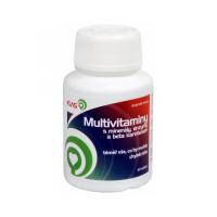 KLAS CZ Multivitaminy s minerály, enzymy a beta karotenem 60 tablet