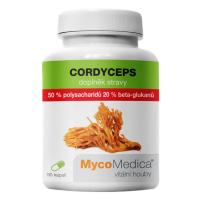 MYCOMEDICA Cordyceps 50% 90 vegan rostlinných kapslí