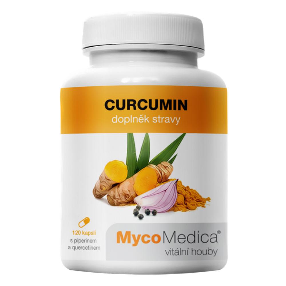 MYCOMEDICA Curcumin 120 želatinových kapslí