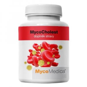 MYCOMEDICA MycoCholest 120 rostlinných veganských kapslí