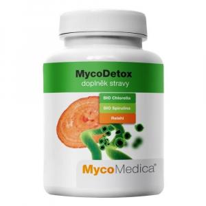 MYCOMEDICA MycoDetox 120 rostlinnných veganských kapslí