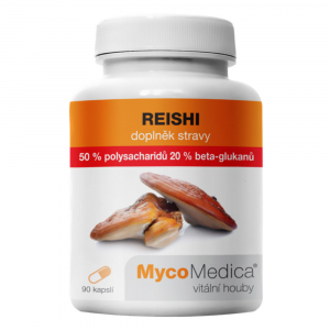 MYCOMEDICA Reishi 50% 90 vegan rostlinných kapslí