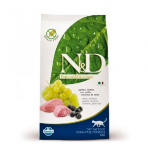 N&D CAT Adult Lamb & Blueberry 1,5kg