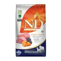 N&D GF Pumpkin DOG Adult M/L Lamb & Blueberry 2,5 kg