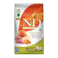 N&D GF Pumpkin DOG Adult Mini Boar & Apple 2,5 kg