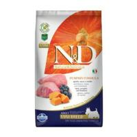 N&D GF Pumpkin DOG Adult Mini Lamb & Blueberry 2,5 kg