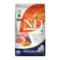 N&D GF Pumpkin DOG Puppy M/L Lamb & Blueberry 2,5 kg