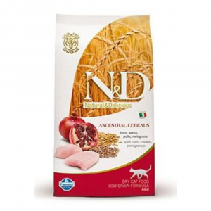 PURINA N&D Low Grain CAT Adult Chicken & Pomegranate 300 g