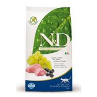 N&D Low Grain CAT Adult Lamb & Blueberry 300g