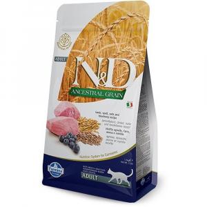 N&D Low Grain Lamb & Blueberry krmivo pro dospělé kočky 1,5kg
