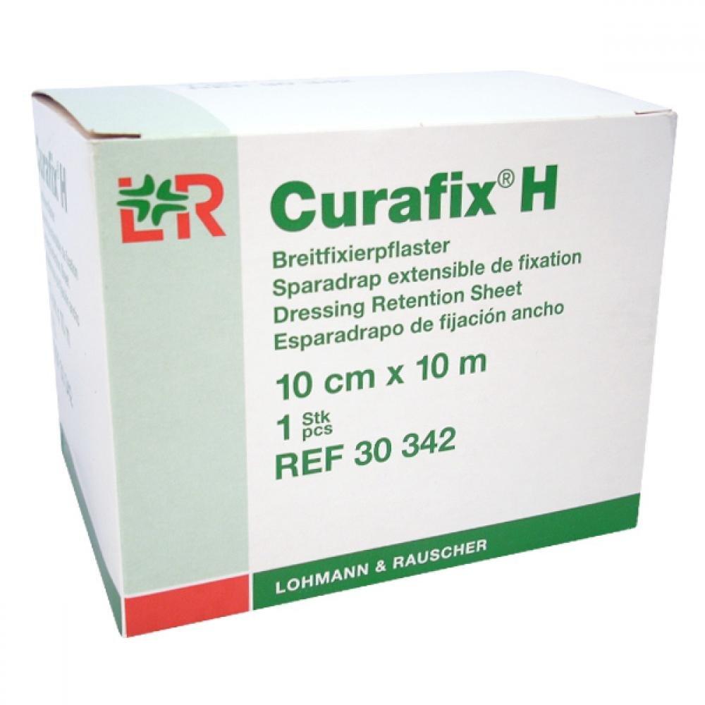 Náplast Curafix H elastická fixovací 10 cm x 10 m/1 ks