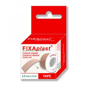 Náplast Fixaplast cívka 2.5 cm x 2 m