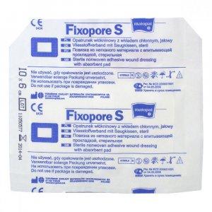 MATOPAT Fixopore S sterilní náplast 6x10 cm 1 kus