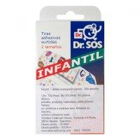 DR.SOS náplasti dětské hypoalergenní mix 20ks