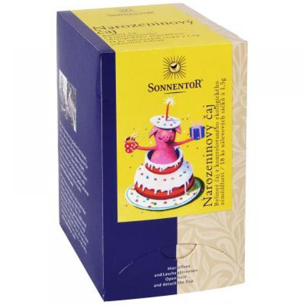 Sonnentor Narozeninový čaj porcovaný 27 g