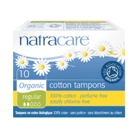 NATRACARE Tampóny REGULAR 10 ks