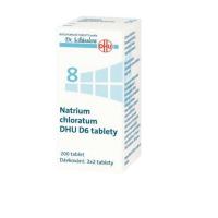 DR. SCHÜSSLERA Natrium chloratum DHU D6 No.8 200 tablet