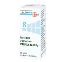 DR. SCHÜSSLERA Natrium chloratum DHU D6 No.8 80 tablet