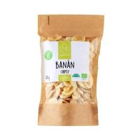 NATU Banán Chipsy 80 g BIO