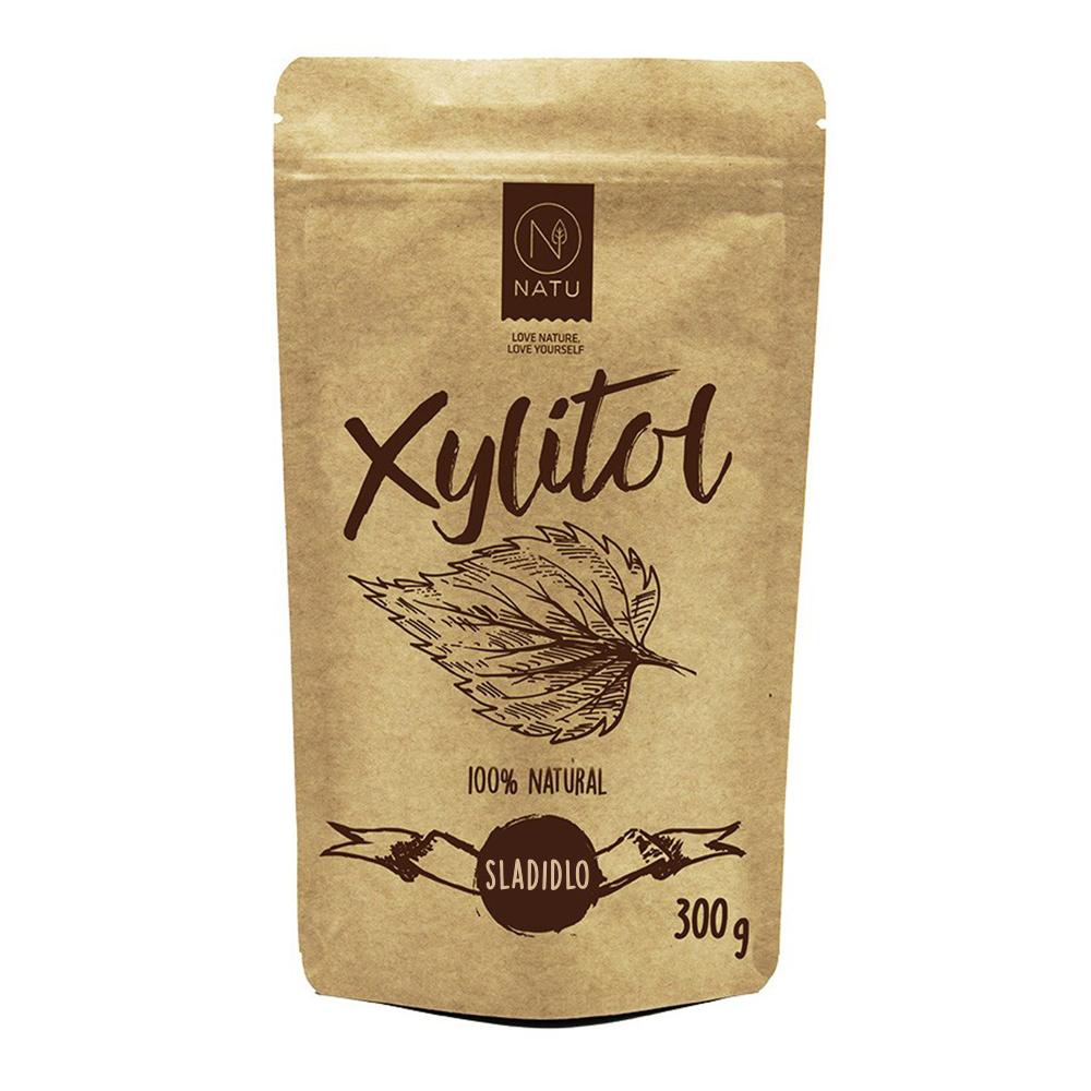 NATU Březový cukr - Xylitol 300 g