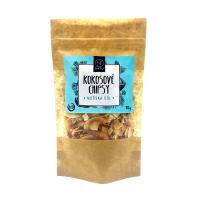 NATU Kokosové chipsy mořská sůl 70 g BIO