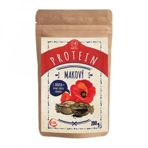 NATU Makový protein 200 g RAW