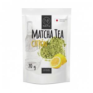 NATU Matcha tea Premium Japan Citrón 70 g BIO