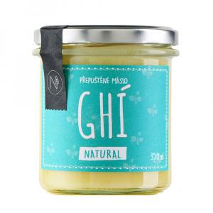 NATU Přepuštěné máslo Ghí natural 350 ml