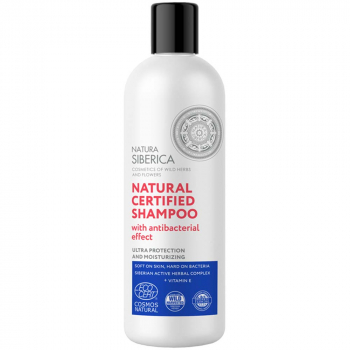 NATURA SIBERICA Šampon s antibakteriálním účinkem 400 ml